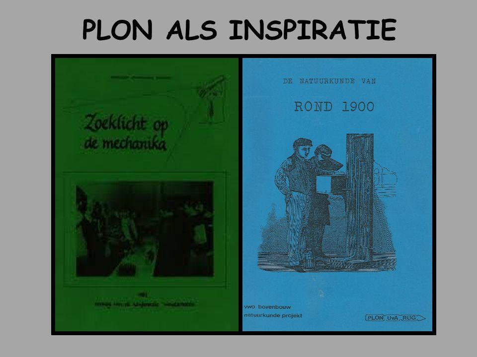 PLON ALS INSPIRATIE 1980-1984 werken bij PLON