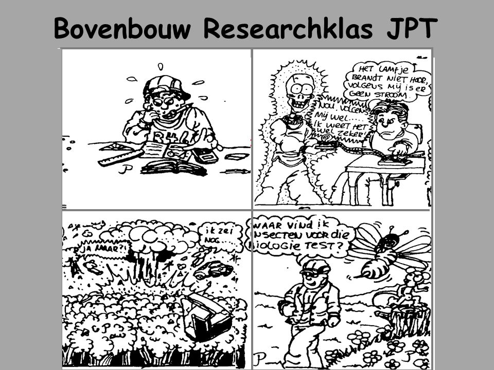 Bovenbouw Researchklas JPT