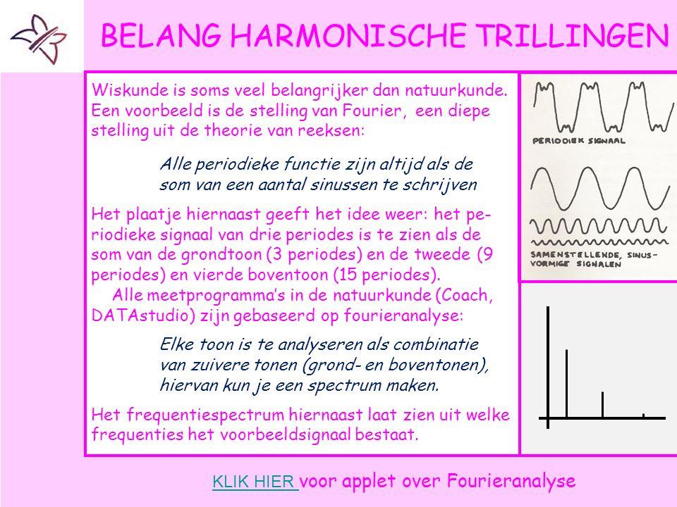 BELANG HARMONISCHE TRILLINGEN