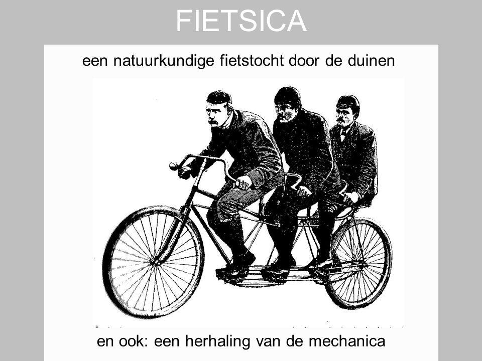 FIETSICA een natuurkundige fietstocht door de duinen