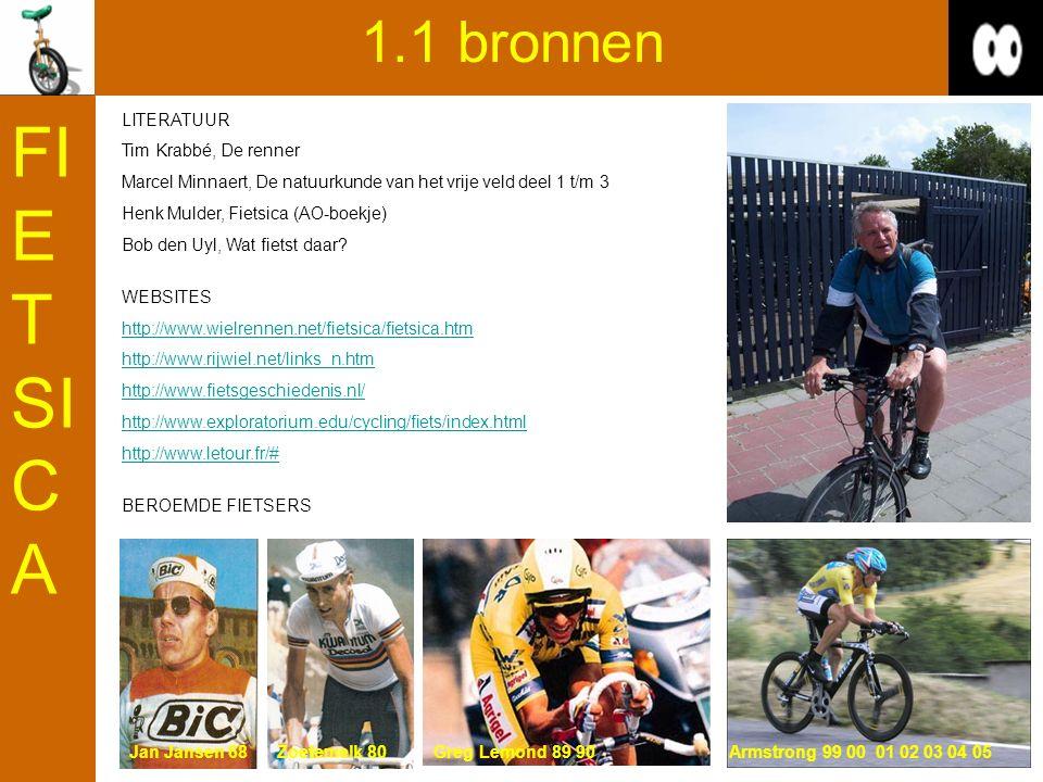 FIETSICA 1.1 bronnen LITERATUUR Tim Krabbé, De renner