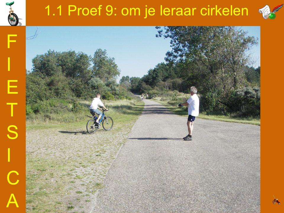 1.1 Proef 9: om je leraar cirkelen