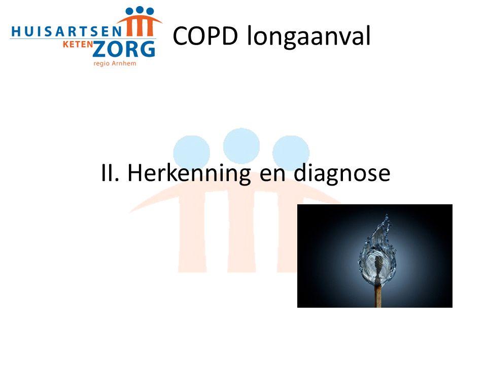 II. Herkenning en diagnose