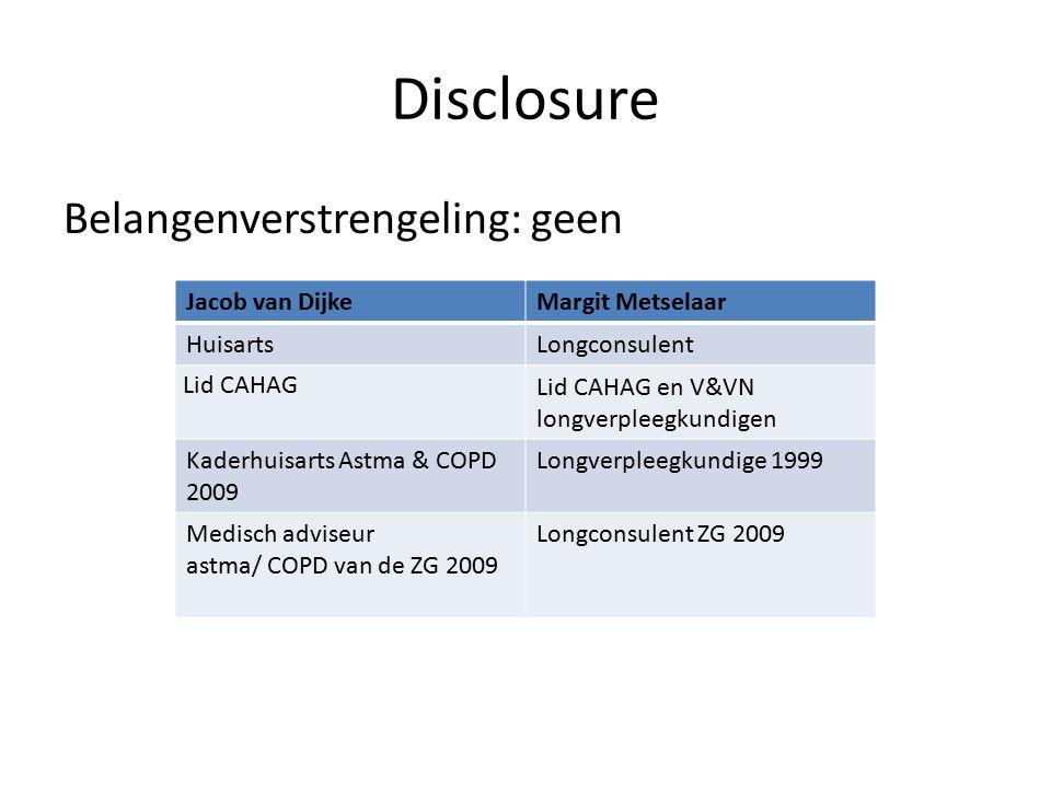 Disclosure Belangenverstrengeling: geen Jacob van Dijke