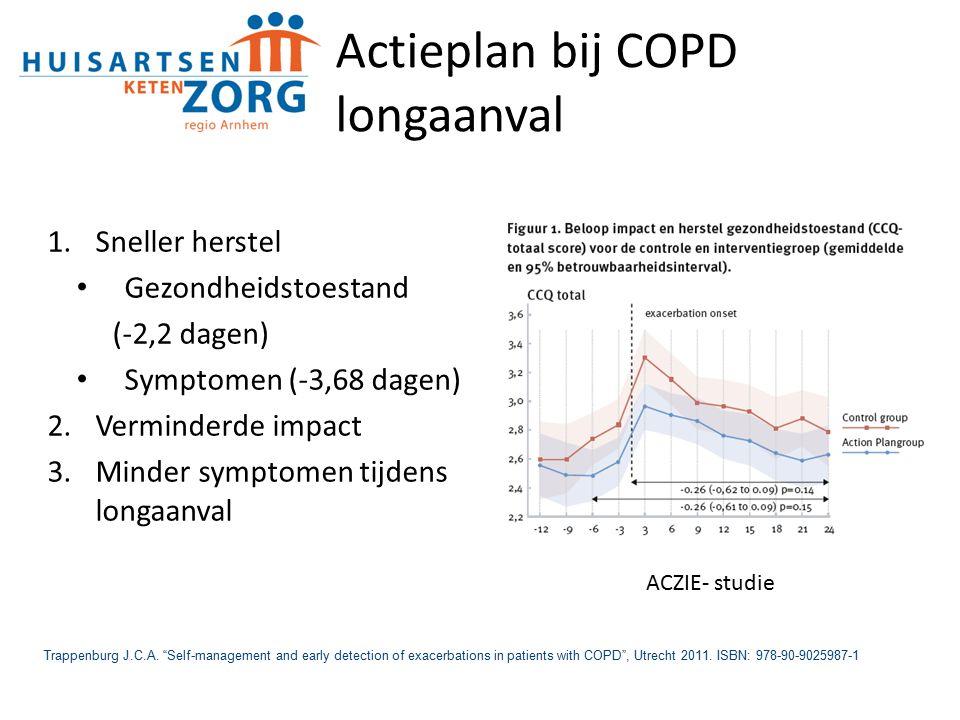 Actieplan bij COPD longaanval
