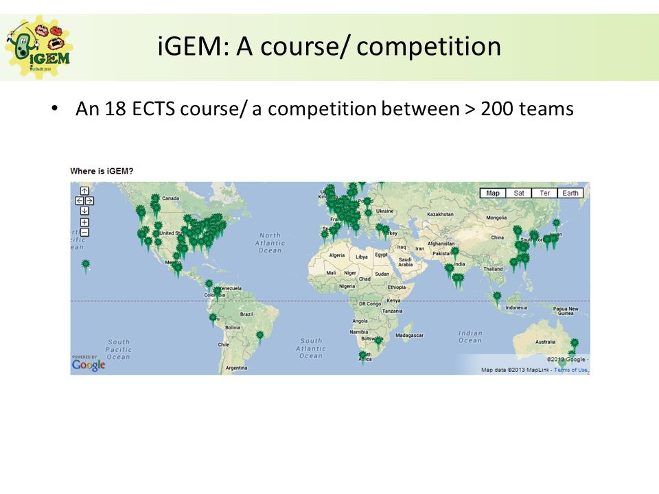 iGEM: A course/ competition