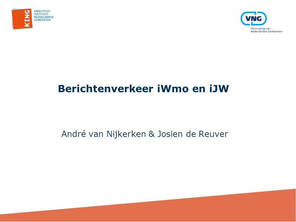 Berichtenverkeer iWmo en iJW