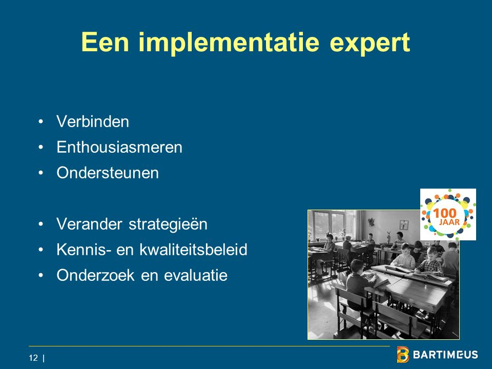 Een implementatie expert