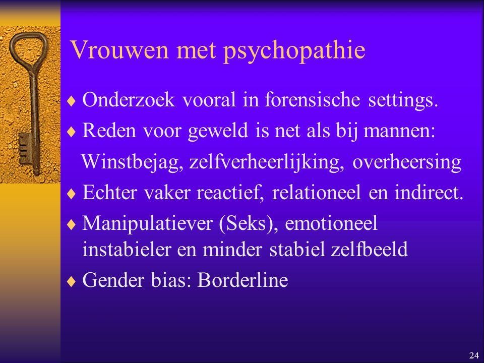Vrouwen met psychopathie