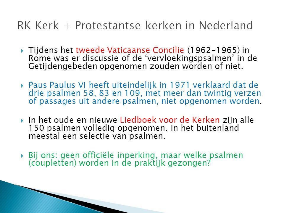 RK Kerk + Protestantse kerken in Nederland