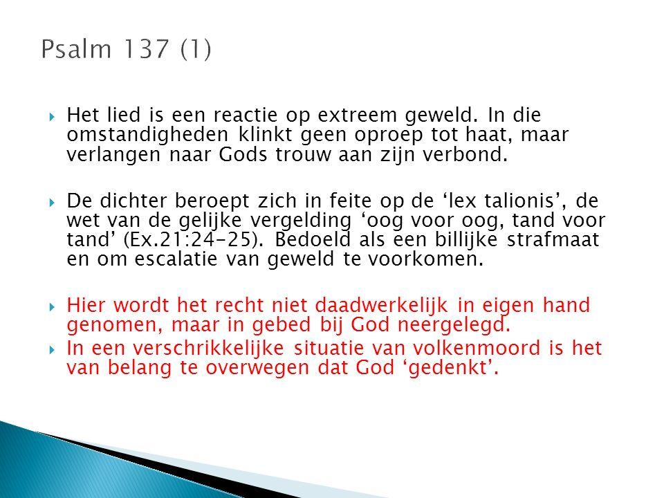 Psalm 137 (1)