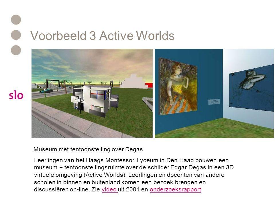 Voorbeeld 3 Active Worlds