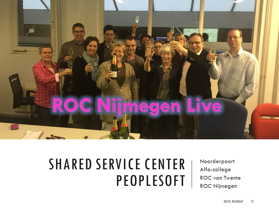 Shared Service Center Peoplesoft