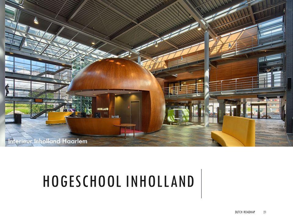 Interieur Inholland Haarlem
