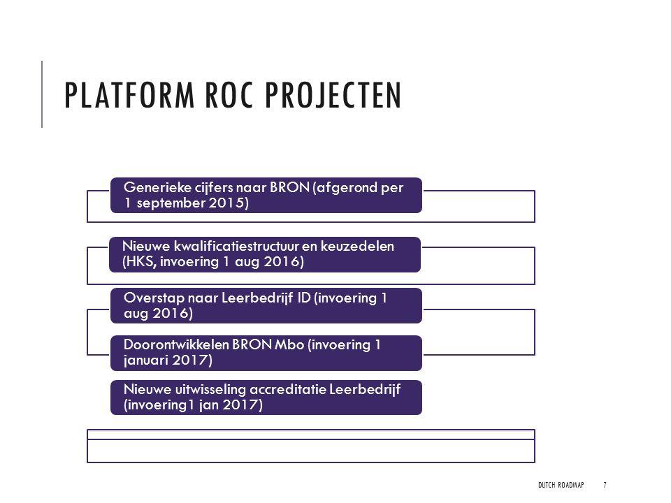 Platform ROC projecten