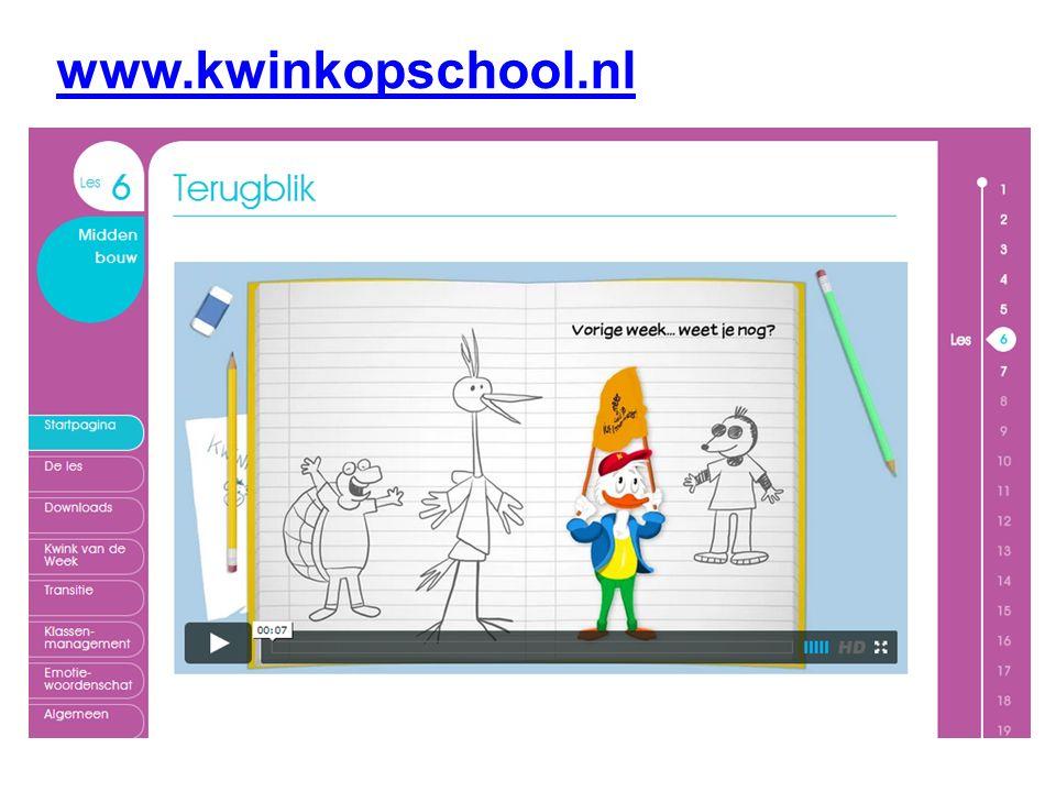 www.kwinkopschool.nl Laten zien les 6 Overeenkomsten: Animaties ADI