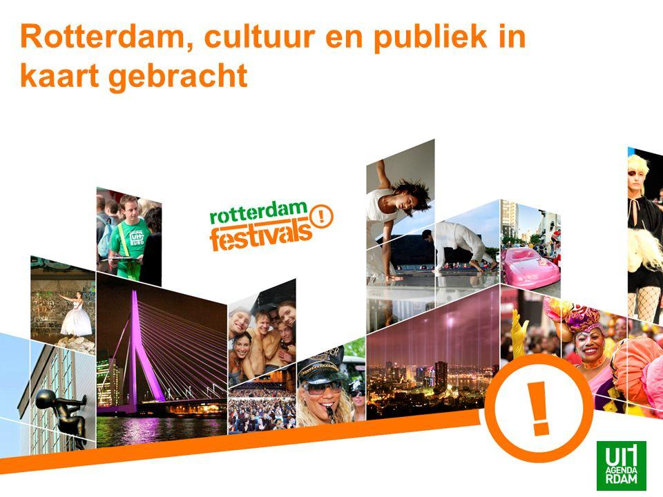 Rotterdam, cultuur en publiek in kaart gebracht