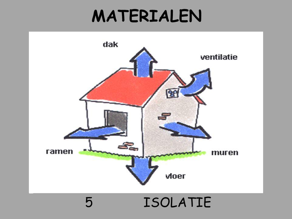 MATERIALEN 5 isolatie