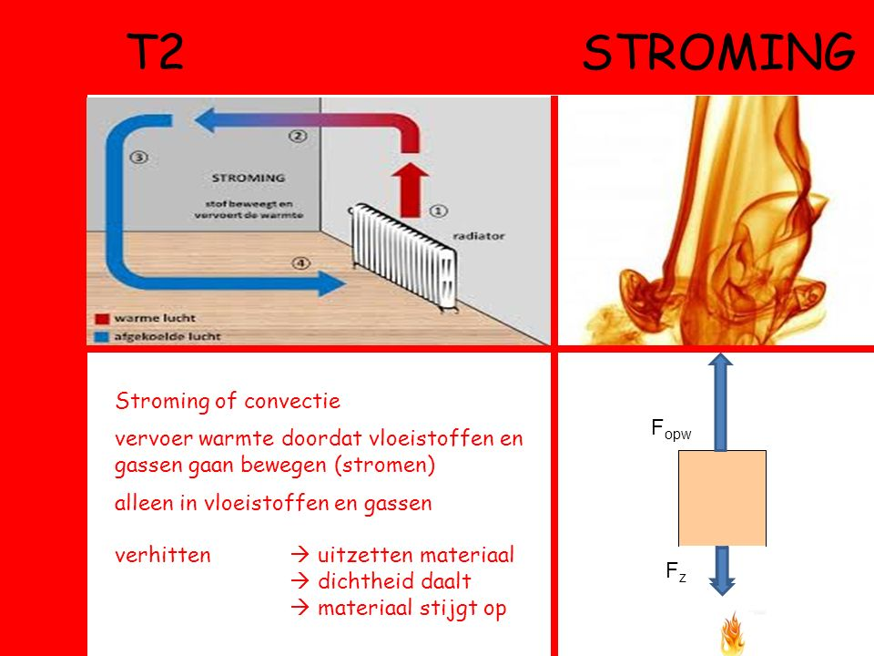 T2 stroming Stroming of convectie