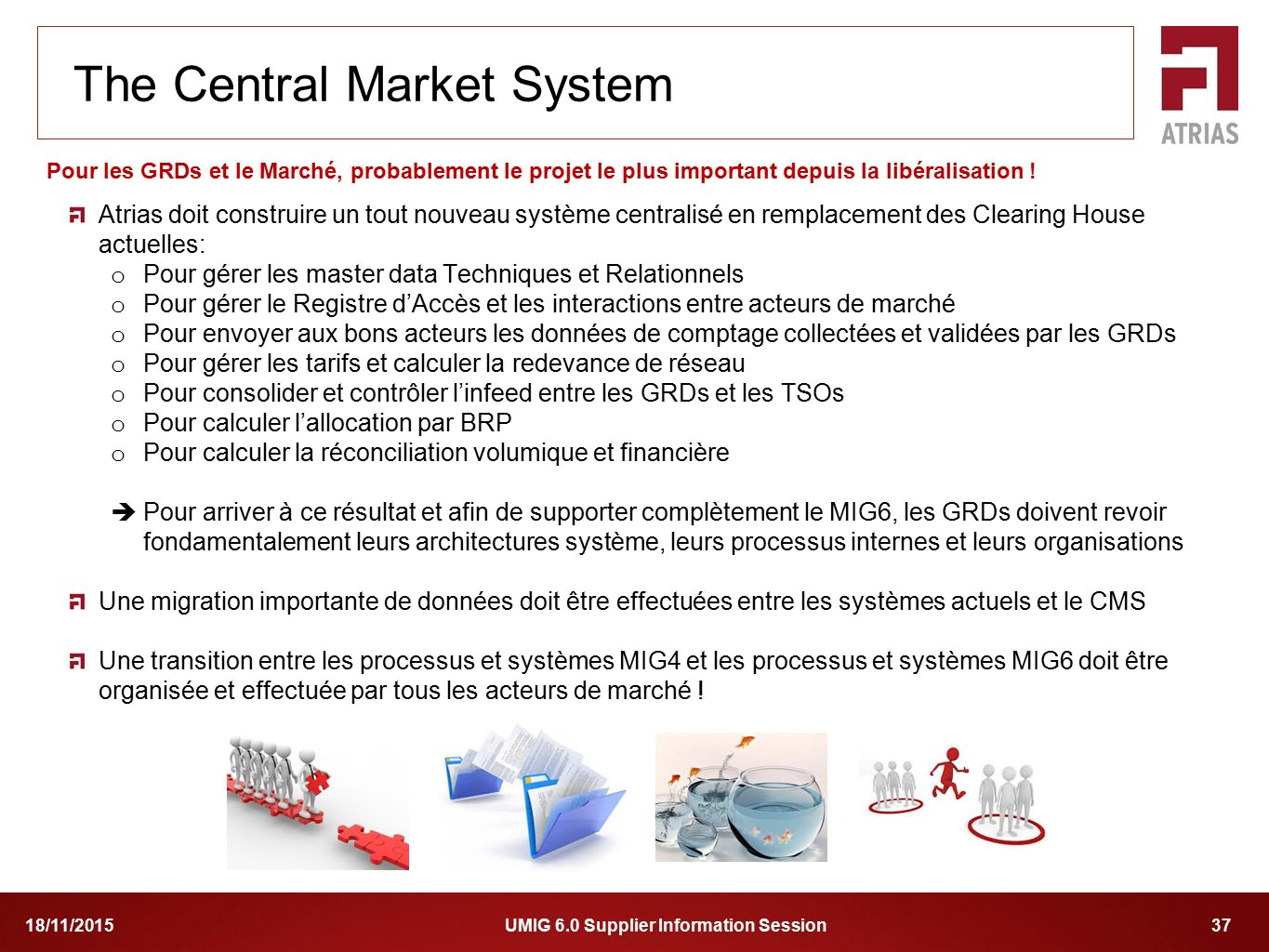 The Central Market System