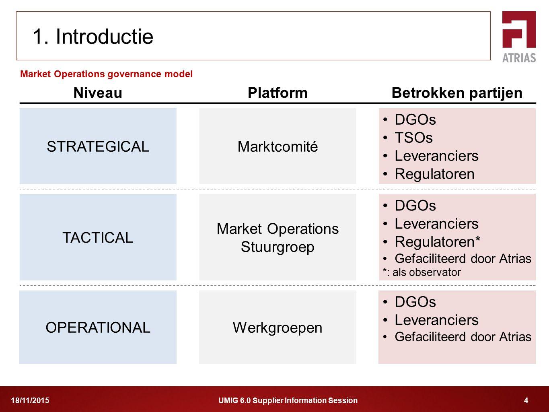 Market Operations Stuurgroep