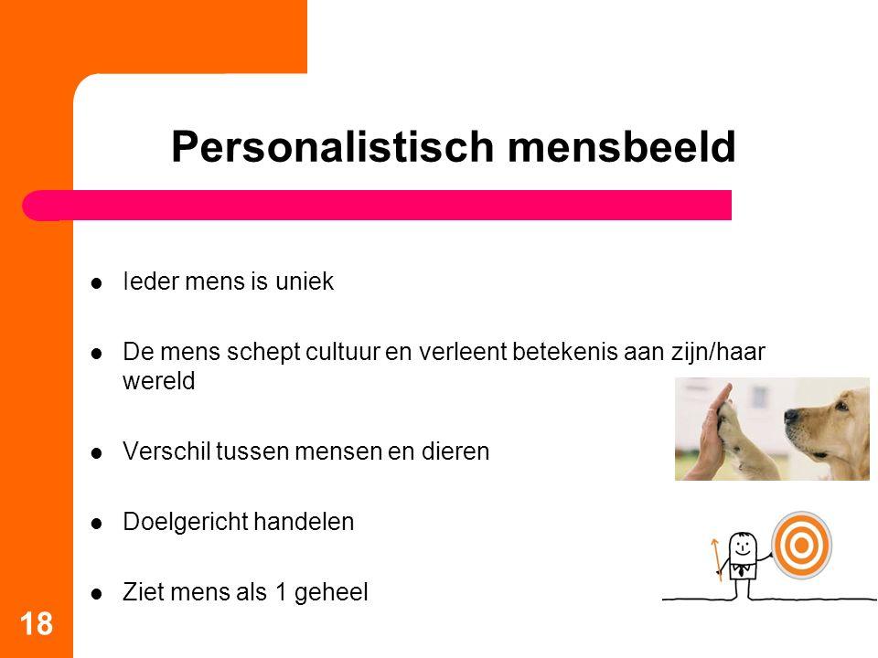 Personalistisch mensbeeld