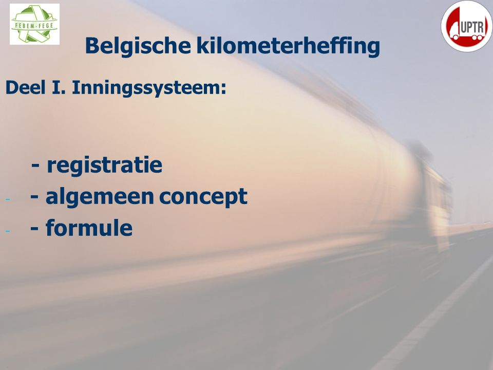 Belgische kilometerheffing