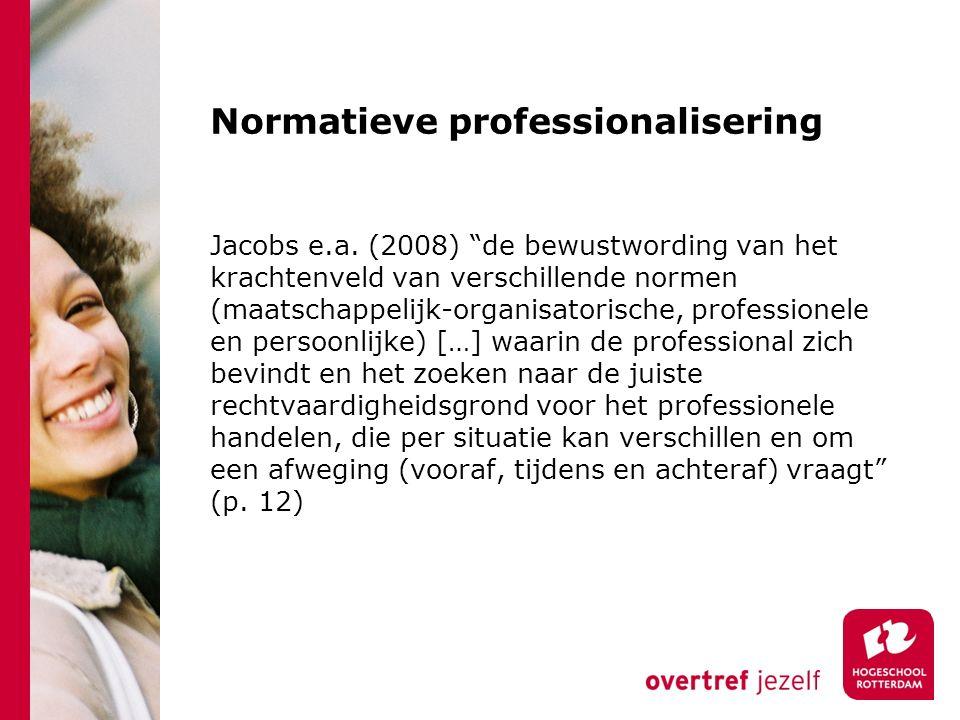 Normatieve professionalisering