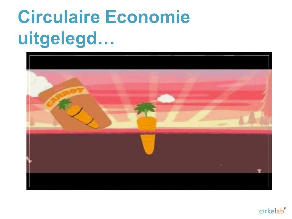 Circulaire Economie uitgelegd…