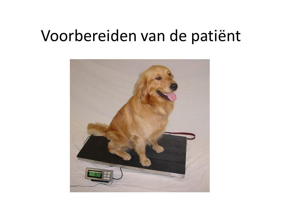 Voorbereiden van de patiënt