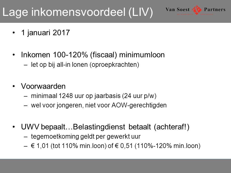 Lage inkomensvoordeel (LIV)