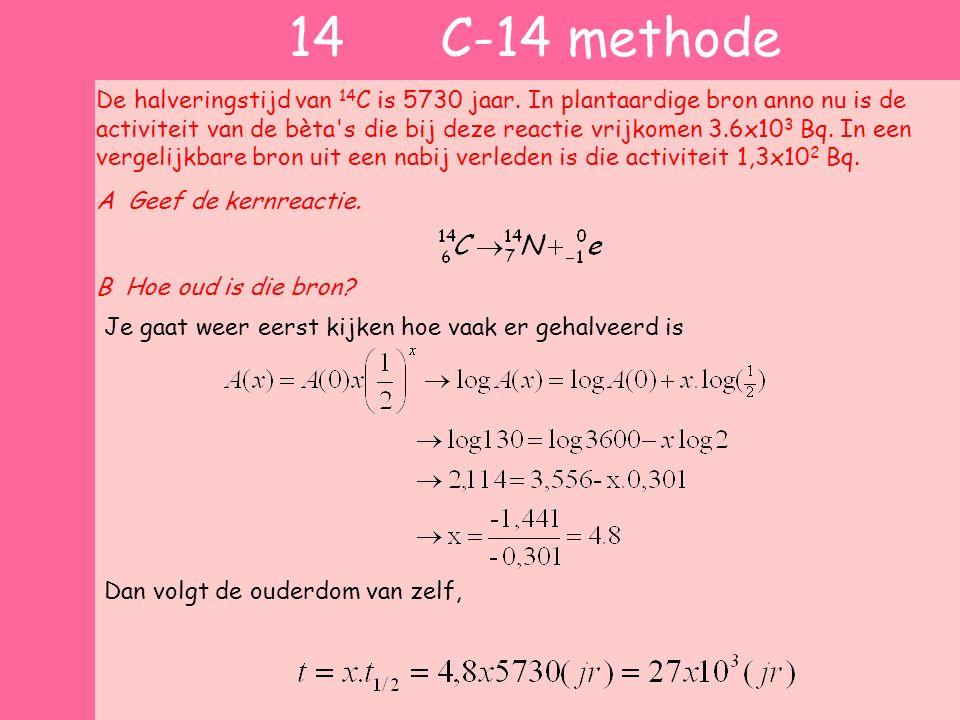 14 C-14 methode