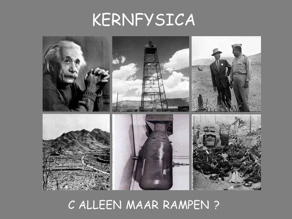 KERNFYSICA C ALLEEN MAAR RAMPEN