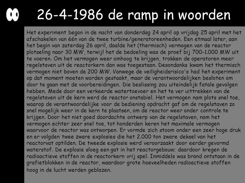 26-4-1986 de ramp in woorden