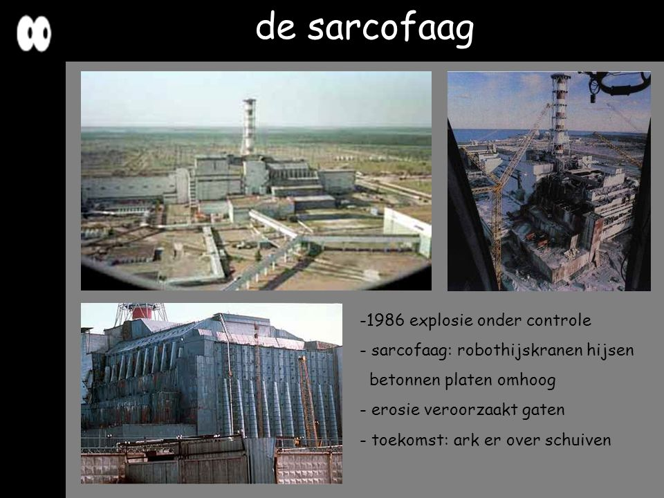 de sarcofaag 1986 explosie onder controle