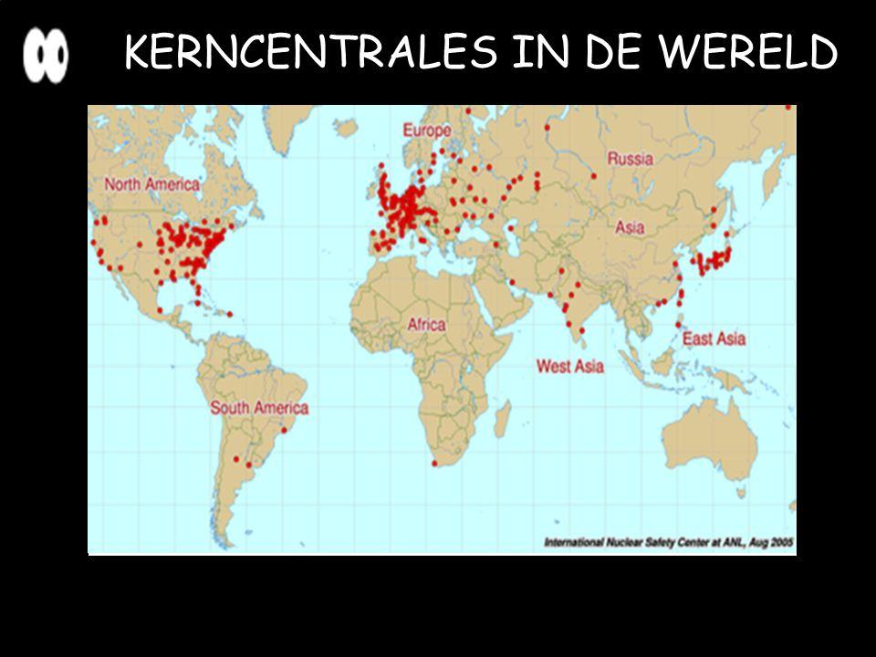 KERNCENTRALES IN DE WERELD