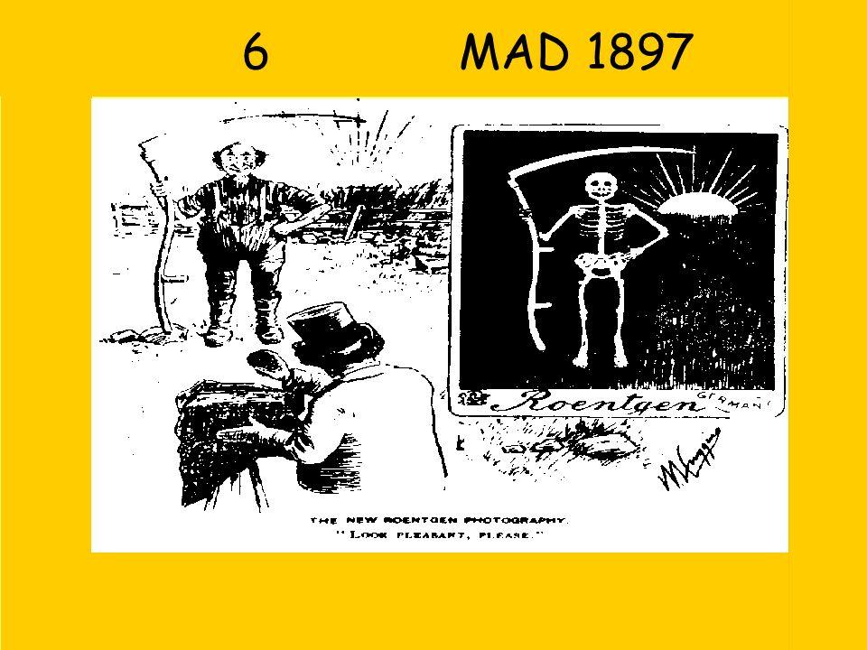 6 MAD 1897 Zon wordt licht getekend  zon als bron van röntgenstraling