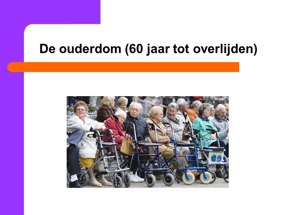 De ouderdom (60 jaar tot overlijden)