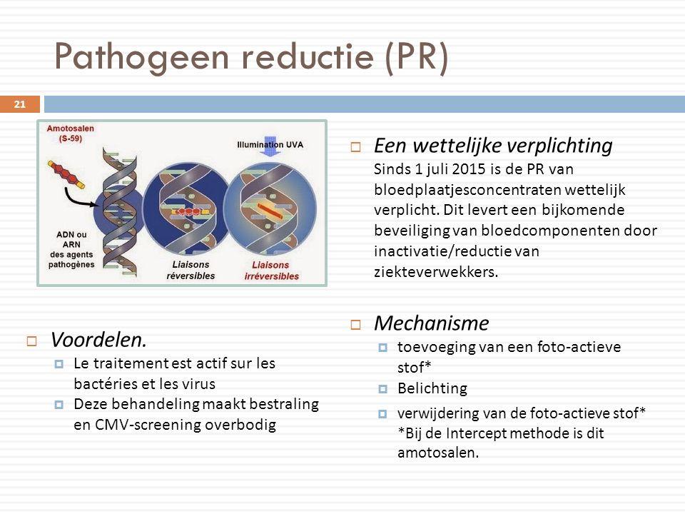 Pathogeen reductie (PR)