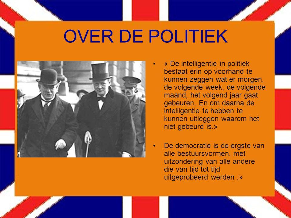 OVER DE POLITIEK