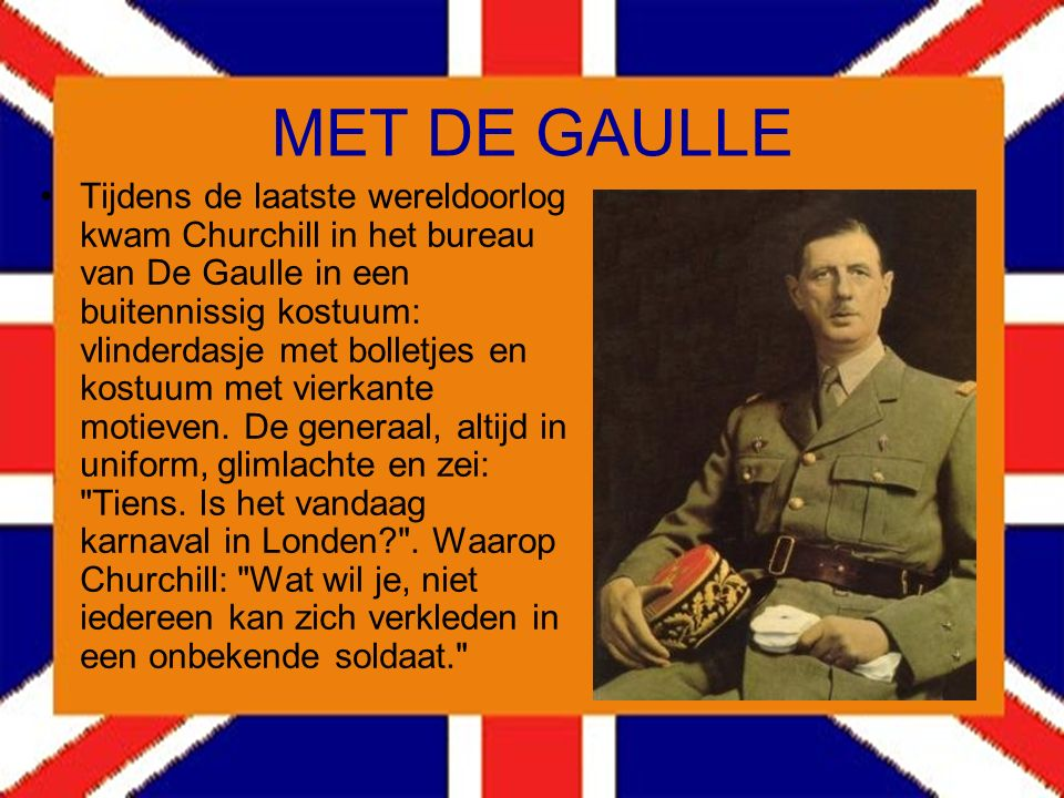 MET DE GAULLE