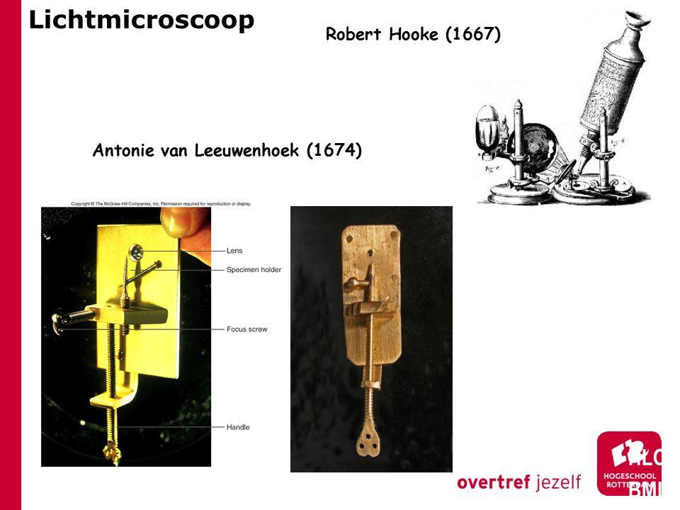 Lichtmicroscoop HLO BML Robert Hooke (1667)
