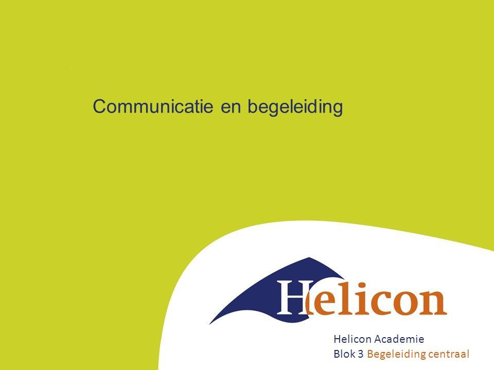Communicatie en begeleiding