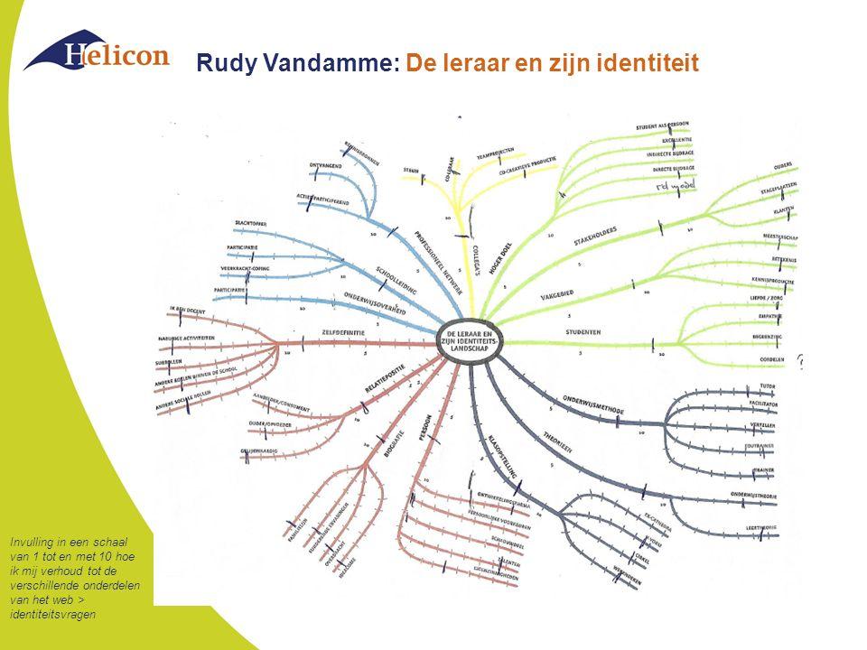Rudy Vandamme: De leraar en zijn identiteit