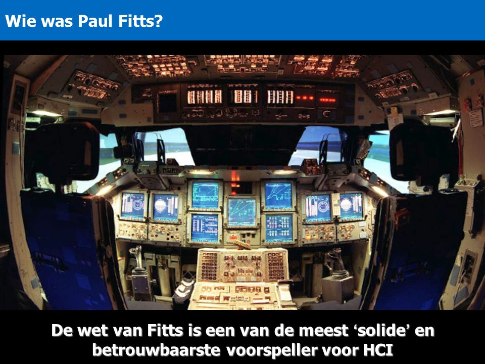 Wie was Paul Fitts