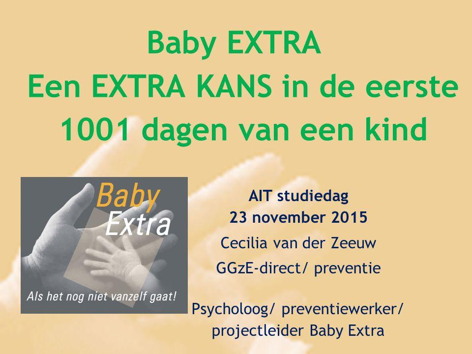 Baby EXTRA Een EXTRA KANS in de eerste 1001 dagen van een kind