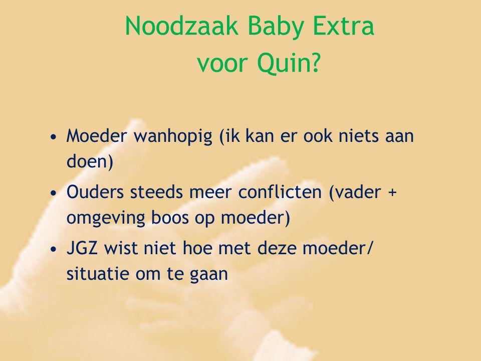 Noodzaak Baby Extra voor Quin