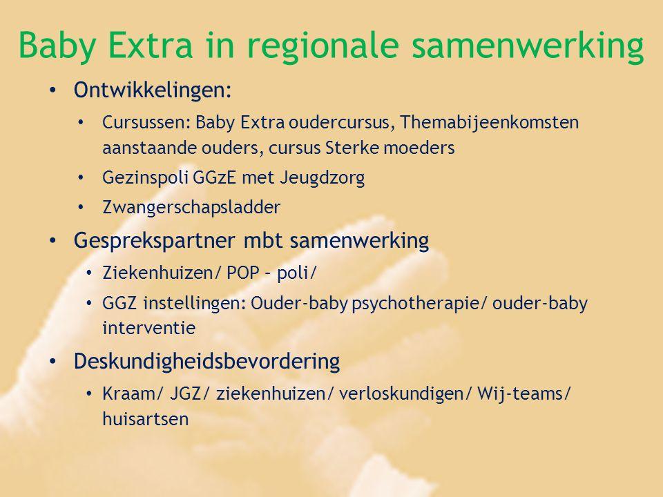 Baby Extra in regionale samenwerking