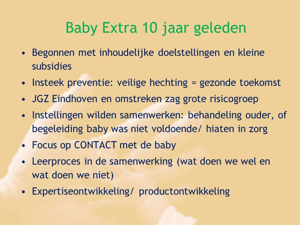 Baby Extra 10 jaar geleden