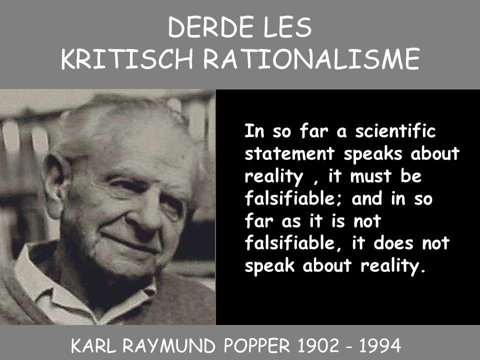 KRITISCH RATIONALISME